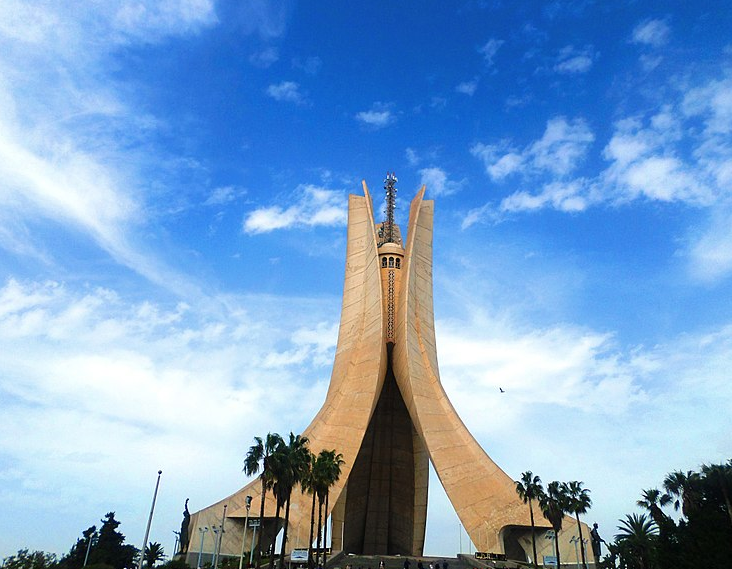 mémorial du Martyr, Alger