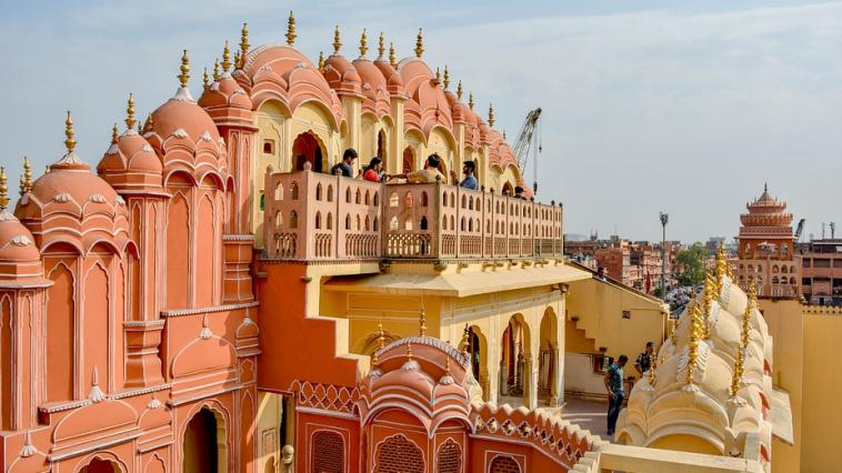 monument à Jaipur en Inde