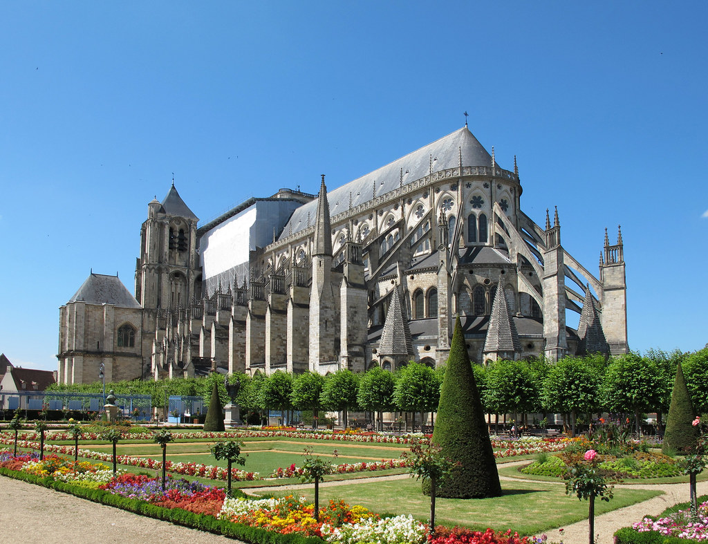 cathedrale bourges france cathedrales