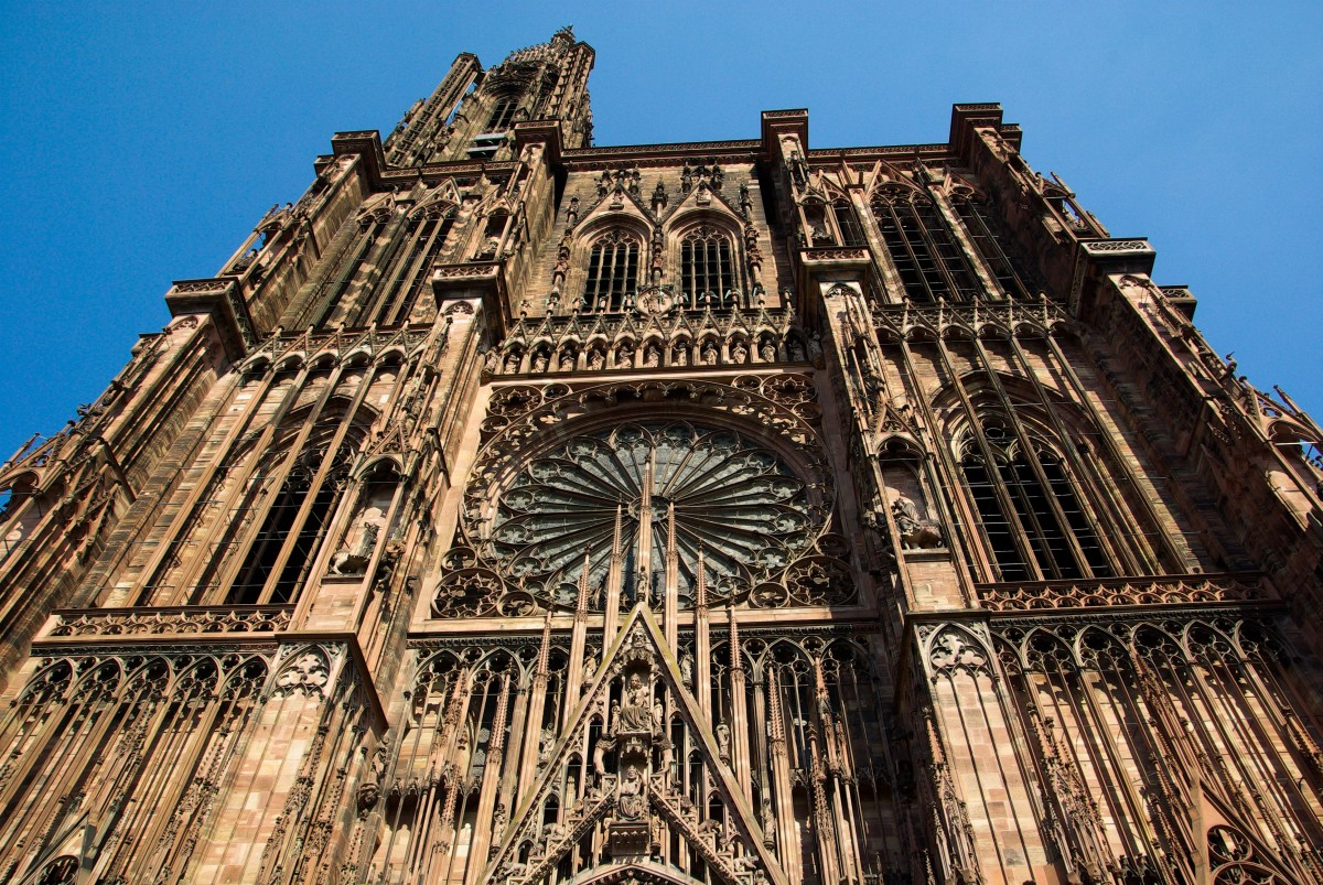 cathedrale strasbourg france cathedrales