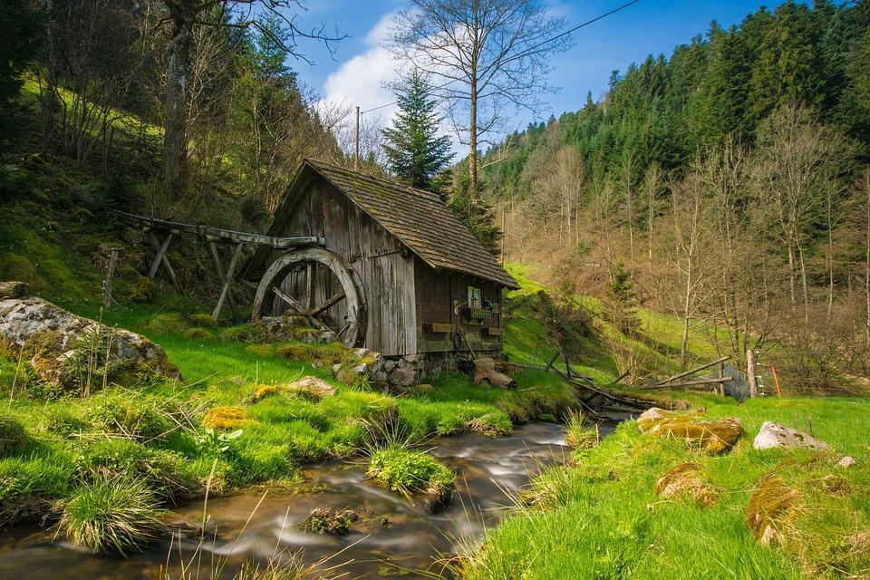 foret-noire moulin ancien