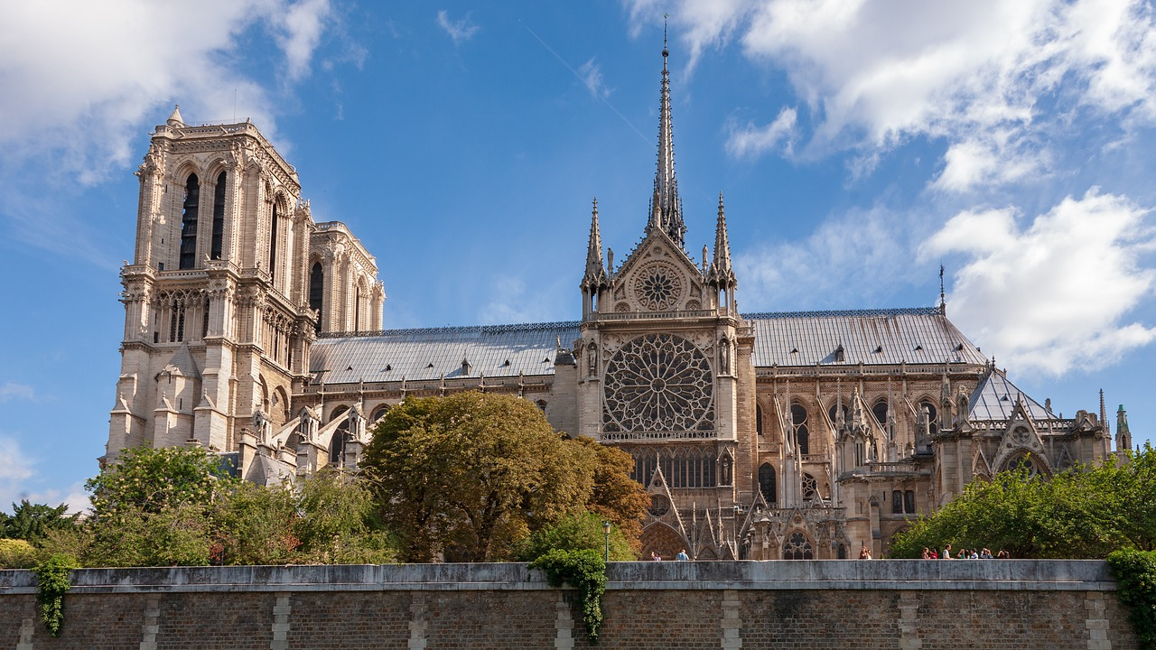 notre dame de paris france cathedrales