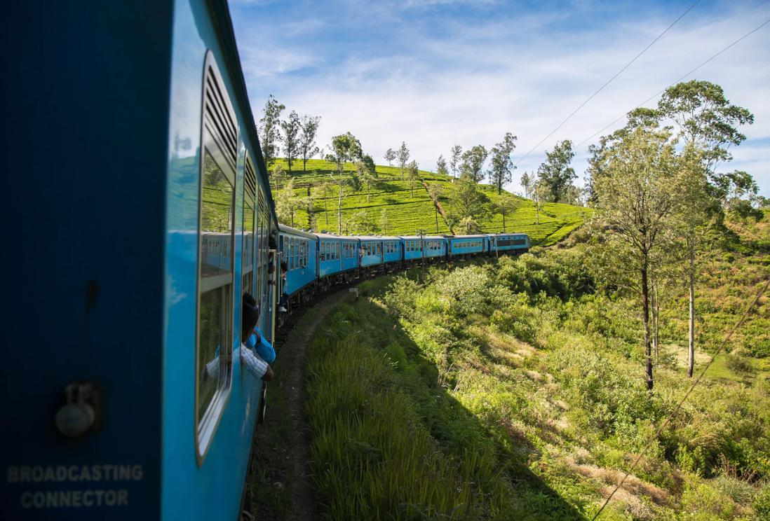 paysage train Sri Lanka