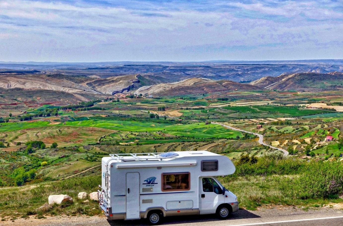voyage en Ecosse en camping car