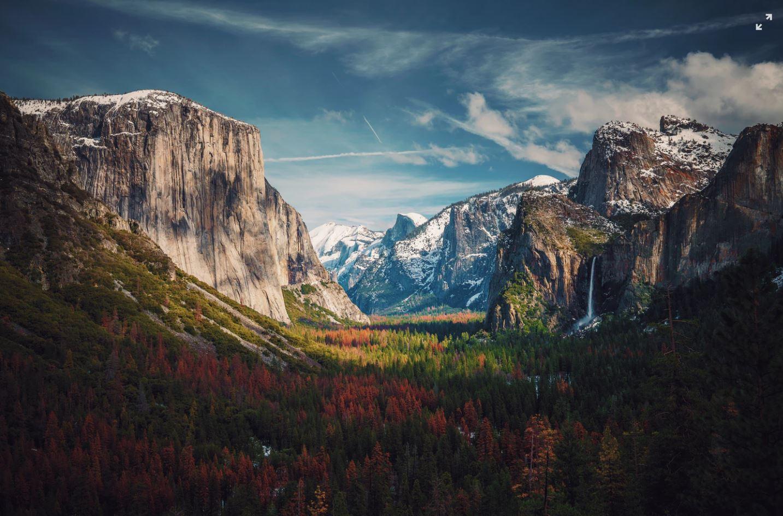 yosemite plus beaux parcs nationaux états unis