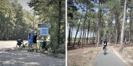 voyage vélo a travers la France