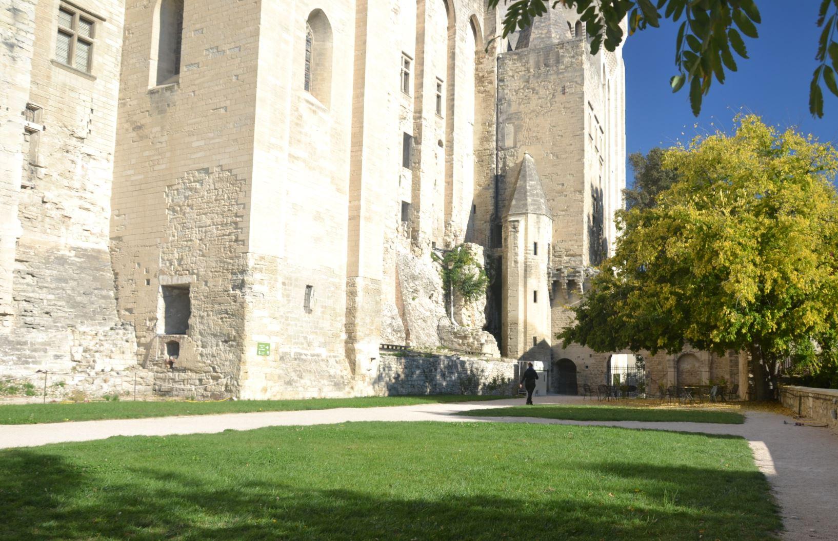 jardins forteresse Avignon