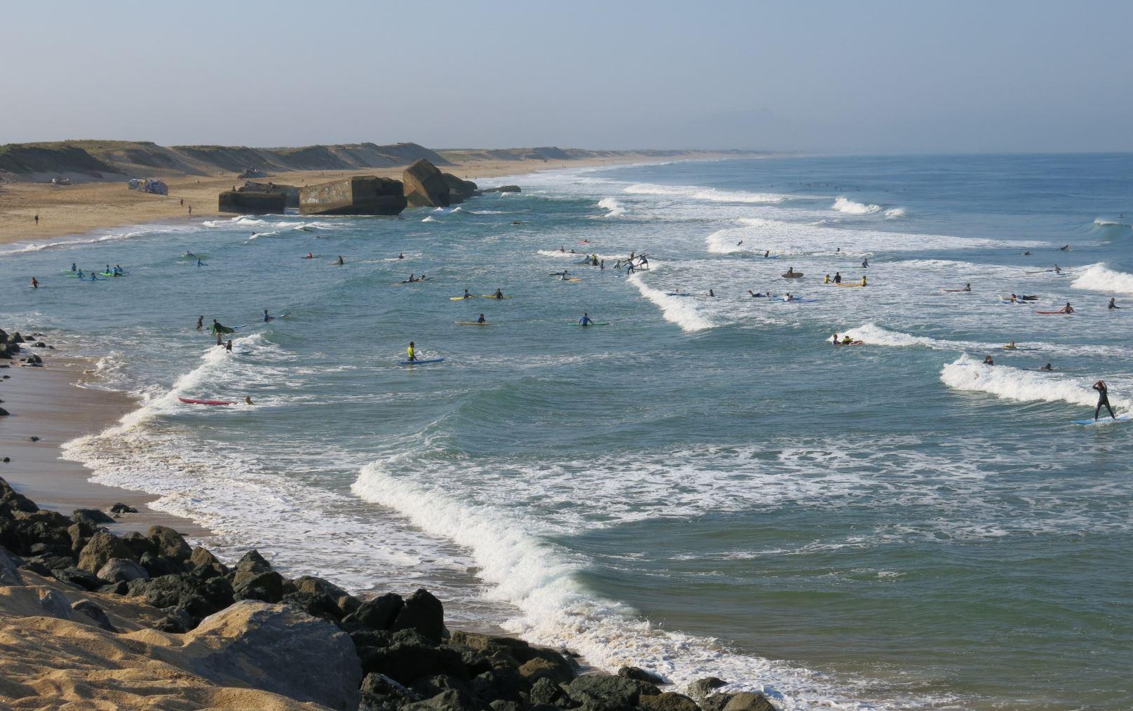 Plage des landes surf choses à faire